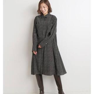 IENA - IENA ドットシャツミニワンピース 38サイズ元値¥20,900