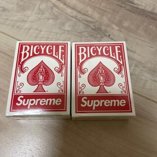 シュプリーム(Supreme)のsupreme トランプ 2個セット 新品未使用(トランプ/UNO)