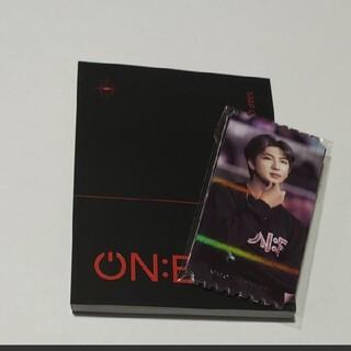 BTS  ブックレット チケットカード MAP OF THE SOUL ON:E