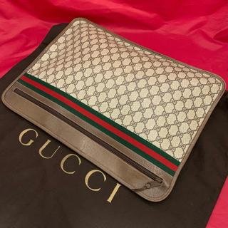 グッチ(Gucci)のオールドGUCCI☆クラッチビジネスバッグ☆美品(クラッチバッグ)