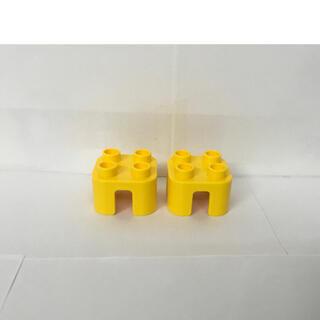 レゴ(Lego)のレゴ デュプロ 特殊 ブロック パーツ 椅子 イス 2脚 セット 黄色系(積み木/ブロック)