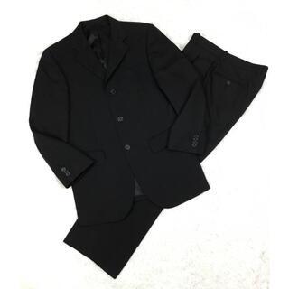 VISARUNOビサルノ100's生地3BシングルスーツブラックサイズS冠婚葬祭(セットアップ)