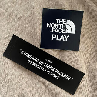 THE NORTH FACE - northface standard northface play ステッカー2