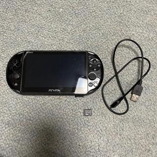 PlayStation Vita - 【美品】PSvita2000 wifiモデル+メモリーカード+ソフト