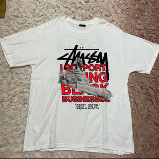 OFF-WHITE - stussy off-white TEE SIZE L