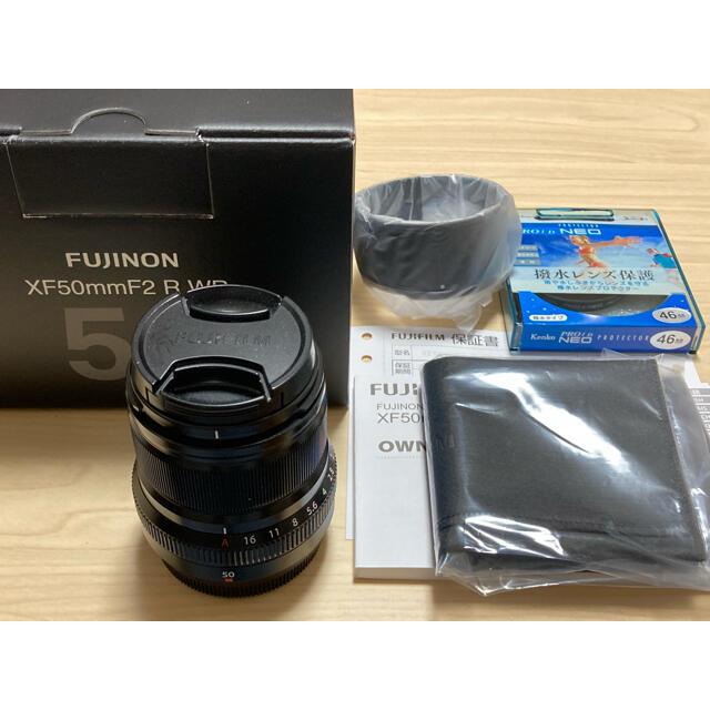 富士フイルム(フジフイルム)のxf50mm f2 R WR フジフィルム  スマホ/家電/カメラのカメラ(レンズ(単焦点))の商品写真