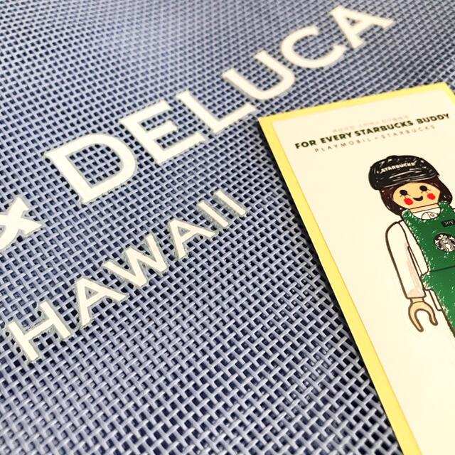 DEAN & DELUCA(ディーンアンドデルーカ)の新品未使用 * DEAN&DELUCA Hawaii メッシュトート ブルー レディースのバッグ(トートバッグ)の商品写真