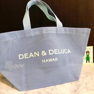 DEAN & DELUCA - 新品未使用 * DEAN&DELUCA Hawaii メッシュトート ブルー
