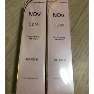 ノブ(NOV)の新品未開封  NOV ノブ L&W ブライトニングエッセンス 美白美容液(美容液)