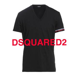ディースクエアード(DSQUARED2)のDSQUARED2/ディースクエアード2/ロゴテープ/Tシャツ/新品未使用(Tシャツ/カットソー(半袖/袖なし))