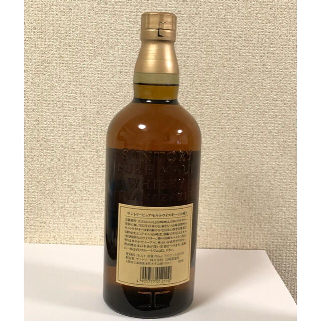 サントリー(サントリー)のサントリー ピュアモルト ウイスキー 山崎12年 750ml 食品/飲料/酒の酒(ウイスキー)の商品写真