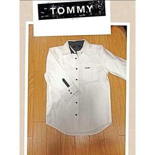 トミー(TOMMY)の★TOMMY(トミー)/ドット柄の七分袖シャツ★(Tシャツ/カットソー(七分/長袖))