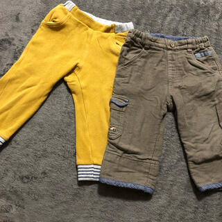 familiar - ファミリア  パンツ 2枚セット ズボン