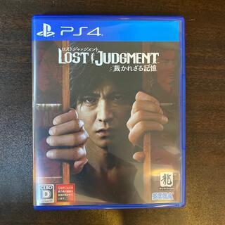 セガ(SEGA)のロストジャッジメント LOST JUDGMENT:裁かれざる記憶 PS4(家庭用ゲームソフト)