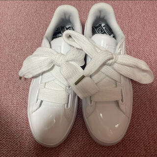 プーマ(PUMA)のプーマ スニーカー 白 運動靴 22.5 新品 PUMA(スニーカー)