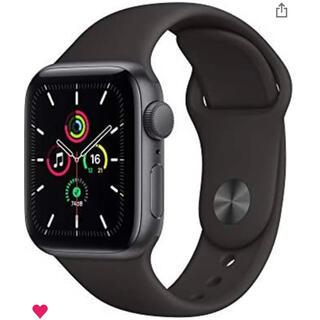 Apple Watch - Apple Watch SE(GPS)40mmスペースグレイ ケース付