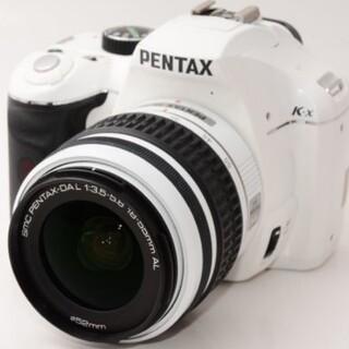 ペンタックス(PENTAX)の送料無料【新品級】PENTAX ペンタックス K-X レンズキット(デジタル一眼)