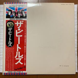 ビートルズ 2枚組LPレコード ザ・ビートルズ(ホワイトアルバム) 国内盤