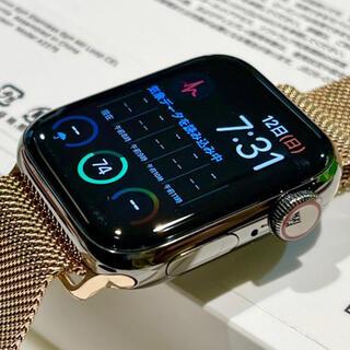 Apple Watch - 40ミリ Apple Watch series6 グラファイトブラックステンレス