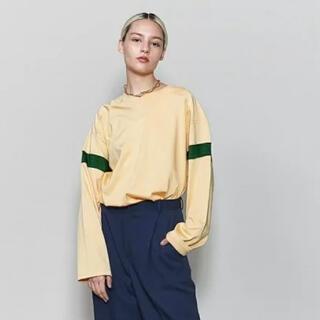ビューティアンドユースユナイテッドアローズ(BEAUTY&YOUTH UNITED ARROWS)の未使用タグ付き roku フットボールTシャツ(Tシャツ(長袖/七分))