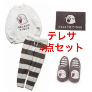 gelato pique - ジェラートピケ♡スーパーマリオコラボ♡テレサ4点セット