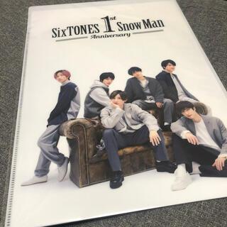 Johnny's - SixTONES Snow man クリアファイル