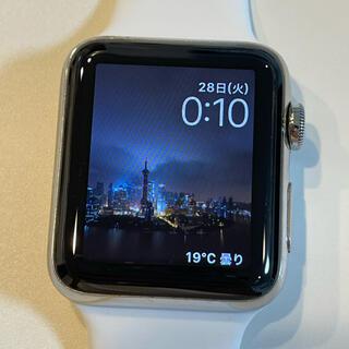 アップル(Apple)の限定 Apple Watch 2 ステンレス 42mm 極美品(その他)