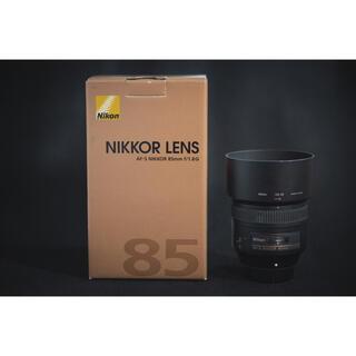 ニコン(Nikon)のニコン nikon 85mm f1.8g 単焦点レンズ(レンズ(単焦点))