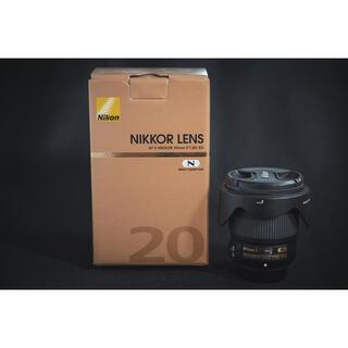 ニコン(Nikon)のnikon ニコン 20mm f1.8g 単焦点(レンズ(単焦点))