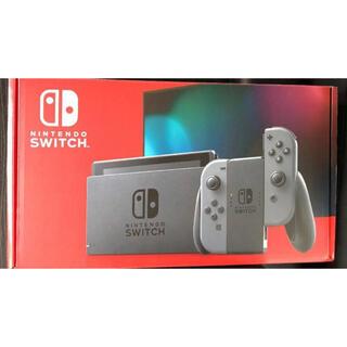 Nintendo Switch - 【新品未使用】Switch 本体 グレー 任天堂スイッチ本体