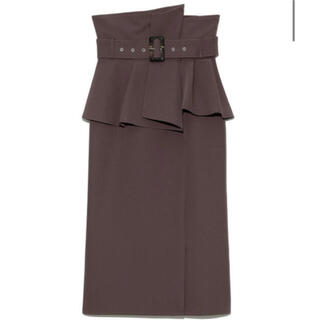 snidel - コルセットベルトタイトスカート MOC サイズ1