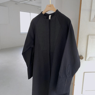 TODAYFUL - 【美品】willfully スタンドカラーシャツワンピース ブラック