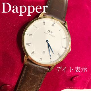 ダニエルウェリントン(Daniel Wellington)の⁂希少 DWダニエルウェリントン Dapperダッパー 腕時計メンズ レディース(腕時計(アナログ))