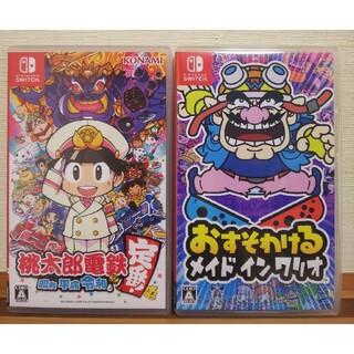 Nintendo Switch - Switch   桃太郎電鉄    おすそわけるメイドインワリオ