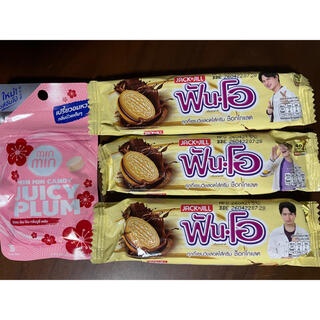 Fun-O クッキーとminmin candy 4点セット