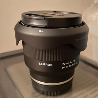 タムロン(TAMRON)のTAMRON 20mm F/2.8 Di III Eマウント(レンズ(単焦点))