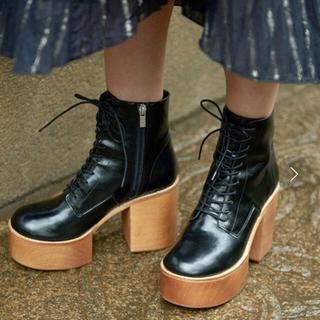 アメリヴィンテージ(Ameri VINTAGE)のAMERI LACE UP BOOTS(ブーツ)