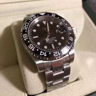 SEIKO - SEIKO セイコー Mod NH35A GMTマスタータイプ黒 カスタム腕時計