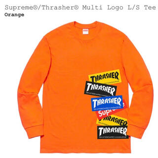 Supreme - Supreme®/Thrasher® Multi Logo LS Tee