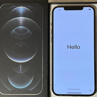 Apple - iPhone12ProMax SIMフリー 正規6/30購入 バッテリー100%