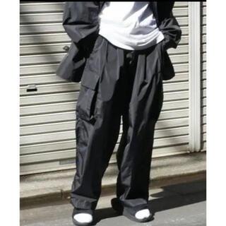 1LDK SELECT - stein シュタイン 21AW ナイロンカーゴパンツ ブラック S 完売品