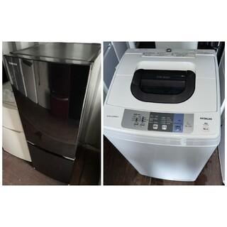東芝 - 東芝2ドア冷蔵庫153L&日立5キロ洗濯機 💍2018年製💍 家電2点セット