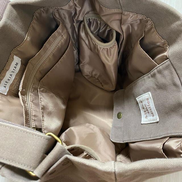 ALEXIA STAM(アリシアスタン)のアリシアスタン マザーズバッグ ブラウン レディースのバッグ(トートバッグ)の商品写真