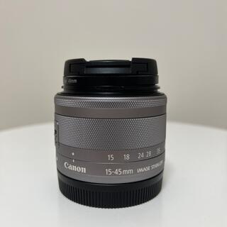 Canon - EF-M 15-45mm シルバー レンズ Canon キャノン