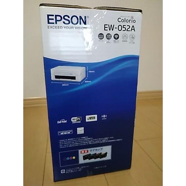 EPSON(エプソン)の早い者勝ち新品プリンターエプソン 本体 インク無し EW-052A  スマホ/家電/カメラのPC/タブレット(PC周辺機器)の商品写真