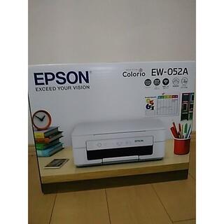 EPSON - 早い者勝ち新品プリンターエプソン 本体 インク無し EW-052A