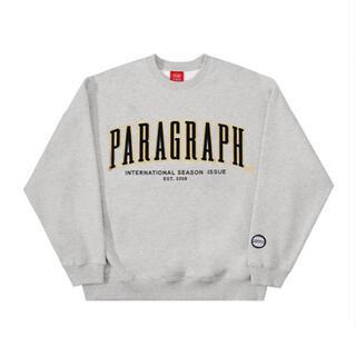 PARAGRAPH パラグラフ スウェット グレー