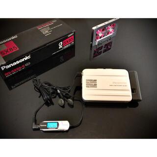 パナソニック(Panasonic)のカセットウォークマン Panasonic RQ-SX85 「完動新品、超美品」(ポータブルプレーヤー)