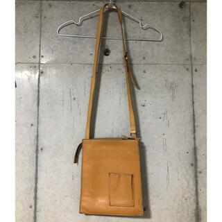 エンダースキーマ(Hender Scheme)のvintage ヌメ革 スクエア bag(ショルダーバッグ)