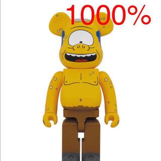 メディコムトイ(MEDICOM TOY)のBE@RBRICK Simpsons CYCLOPS WIGGUM 1000% (その他)